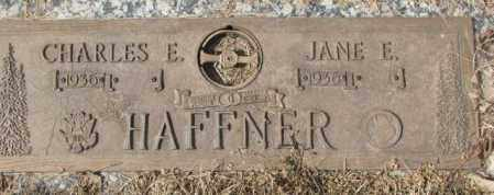 HAFFNER, JANE E. - Yankton County, South Dakota   JANE E. HAFFNER - South Dakota Gravestone Photos