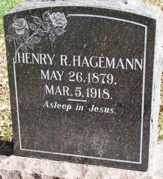 HAGEMANN, HENRY R. - Yankton County, South Dakota | HENRY R. HAGEMANN - South Dakota Gravestone Photos