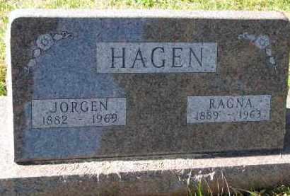 HAGEN, JORGEN - Yankton County, South Dakota | JORGEN HAGEN - South Dakota Gravestone Photos