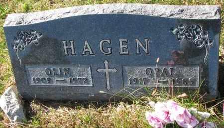 HAGEN, OPAL - Yankton County, South Dakota | OPAL HAGEN - South Dakota Gravestone Photos