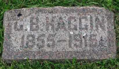 HAGGIN, C.B. - Yankton County, South Dakota | C.B. HAGGIN - South Dakota Gravestone Photos