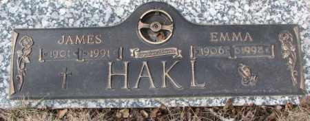 HAKL, JAMES - Yankton County, South Dakota | JAMES HAKL - South Dakota Gravestone Photos