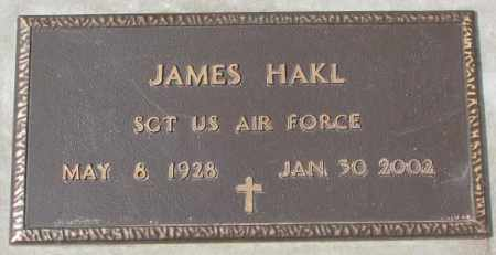 HAKL, JAMES (MILITARY) - Yankton County, South Dakota   JAMES (MILITARY) HAKL - South Dakota Gravestone Photos