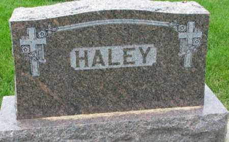HALEY, PLOT - Yankton County, South Dakota | PLOT HALEY - South Dakota Gravestone Photos