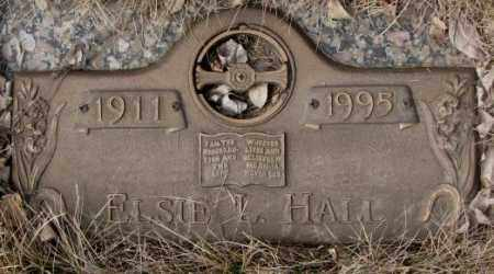 HALL, ELSIE L. - Yankton County, South Dakota | ELSIE L. HALL - South Dakota Gravestone Photos