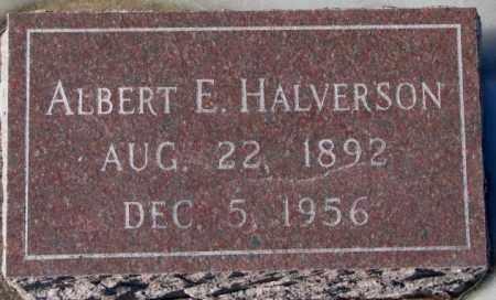 HALVERSON, ALBERT E. - Yankton County, South Dakota | ALBERT E. HALVERSON - South Dakota Gravestone Photos