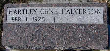 HALVERSON, HARTLEY GENE - Yankton County, South Dakota | HARTLEY GENE HALVERSON - South Dakota Gravestone Photos