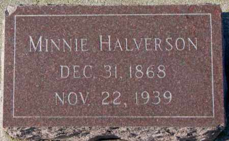 HALVERSON, MINNIE - Yankton County, South Dakota | MINNIE HALVERSON - South Dakota Gravestone Photos