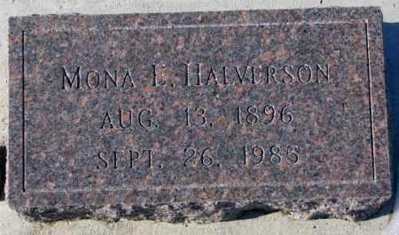 HALVERSON, MONA E. - Yankton County, South Dakota | MONA E. HALVERSON - South Dakota Gravestone Photos