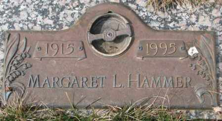HAMMER, MARGARET L. - Yankton County, South Dakota | MARGARET L. HAMMER - South Dakota Gravestone Photos