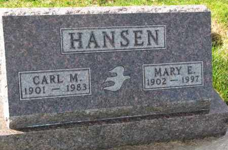 HANSEN, MARY E. - Yankton County, South Dakota | MARY E. HANSEN - South Dakota Gravestone Photos