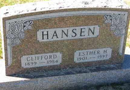 HANSEN, CLIFFORD - Yankton County, South Dakota | CLIFFORD HANSEN - South Dakota Gravestone Photos