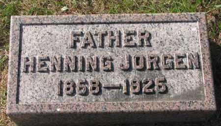 HANSEN, HENNING JORGEN - Yankton County, South Dakota   HENNING JORGEN HANSEN - South Dakota Gravestone Photos