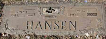 HANSEN, IRWIN L. - Yankton County, South Dakota | IRWIN L. HANSEN - South Dakota Gravestone Photos