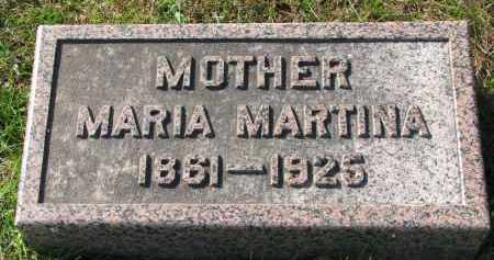 HANSEN, MARIA MARTINA - Yankton County, South Dakota | MARIA MARTINA HANSEN - South Dakota Gravestone Photos