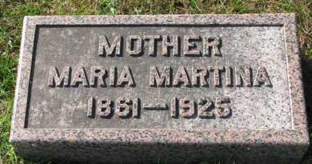 HANSEN, MARIA MARTINA - Yankton County, South Dakota | MARIA MARTINA HANSEN - South Dakota Gravestone Photos