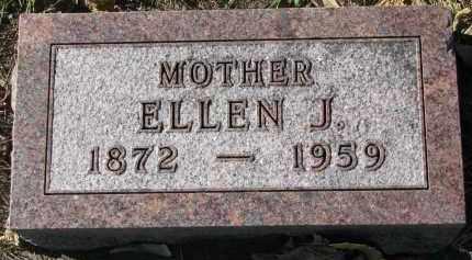 HANSON, ELLEN J. - Yankton County, South Dakota | ELLEN J. HANSON - South Dakota Gravestone Photos
