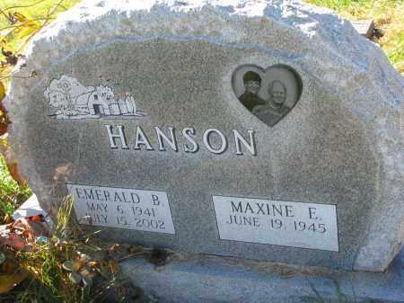 HANSON, MAXINE E. - Yankton County, South Dakota | MAXINE E. HANSON - South Dakota Gravestone Photos