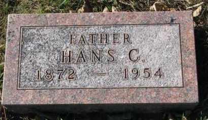 HANSON, HANS C. - Yankton County, South Dakota | HANS C. HANSON - South Dakota Gravestone Photos
