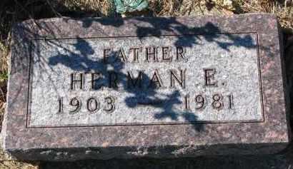 HANSON, HERMAN E. - Yankton County, South Dakota | HERMAN E. HANSON - South Dakota Gravestone Photos