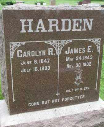 HARDEN, CAROLYN R. - Yankton County, South Dakota | CAROLYN R. HARDEN - South Dakota Gravestone Photos