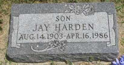 HARDEN, JAY - Yankton County, South Dakota | JAY HARDEN - South Dakota Gravestone Photos