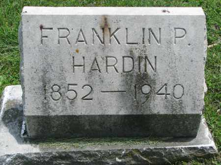 HARDIN, FRANKLIN P. - Yankton County, South Dakota | FRANKLIN P. HARDIN - South Dakota Gravestone Photos