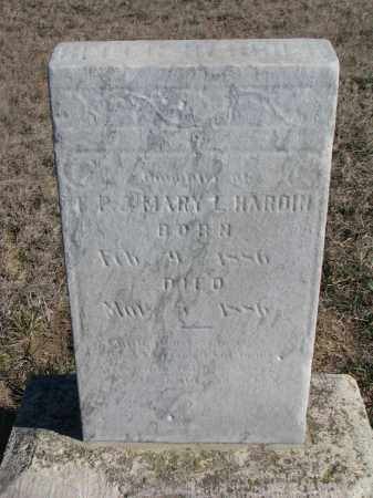 HARDIN, HELEN - Yankton County, South Dakota   HELEN HARDIN - South Dakota Gravestone Photos