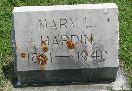 HARDIN, MARY L. - Yankton County, South Dakota | MARY L. HARDIN - South Dakota Gravestone Photos