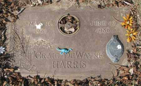 HARRIS, CRAIG DEWAYNE - Yankton County, South Dakota | CRAIG DEWAYNE HARRIS - South Dakota Gravestone Photos