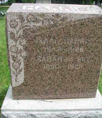 HARRIS, SARAH - Yankton County, South Dakota | SARAH HARRIS - South Dakota Gravestone Photos