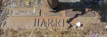 HARRIS, VIOLET - Yankton County, South Dakota | VIOLET HARRIS - South Dakota Gravestone Photos