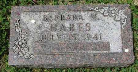 HARTS, BARBARA M. - Yankton County, South Dakota   BARBARA M. HARTS - South Dakota Gravestone Photos