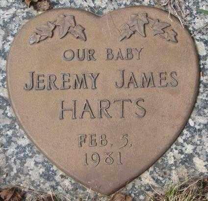 HARTS, JEREMY JAMES - Yankton County, South Dakota   JEREMY JAMES HARTS - South Dakota Gravestone Photos