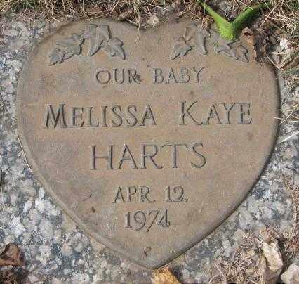 HARTS, MELISSA KAYE - Yankton County, South Dakota | MELISSA KAYE HARTS - South Dakota Gravestone Photos