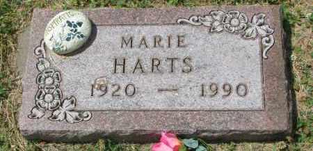 HARTS, MARIE - Yankton County, South Dakota | MARIE HARTS - South Dakota Gravestone Photos