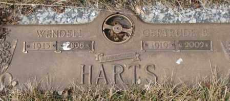 HARTS, WENDELL - Yankton County, South Dakota   WENDELL HARTS - South Dakota Gravestone Photos