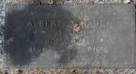 HAUCK, ALBERT C. (WW I) - Yankton County, South Dakota | ALBERT C. (WW I) HAUCK - South Dakota Gravestone Photos