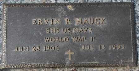 HAUCK, ERVIN R. (WW II) - Yankton County, South Dakota | ERVIN R. (WW II) HAUCK - South Dakota Gravestone Photos