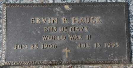 HAUCK, ERVIN R. (WW II) - Yankton County, South Dakota | ERVIN R. (WW II) HAUCK - South Dakota Gravestone Photos