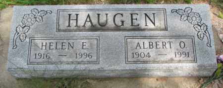HAUGEN, HELEN E. - Yankton County, South Dakota | HELEN E. HAUGEN - South Dakota Gravestone Photos