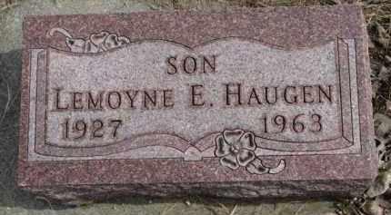 HAUGEN, LEMOYNE E. - Yankton County, South Dakota | LEMOYNE E. HAUGEN - South Dakota Gravestone Photos