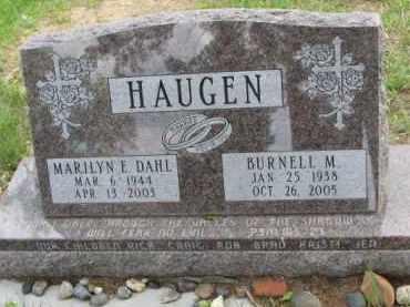 HAUGEN, MARILYN E. - Yankton County, South Dakota | MARILYN E. HAUGEN - South Dakota Gravestone Photos