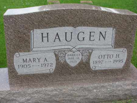 HAUGEN, MARY A. - Yankton County, South Dakota | MARY A. HAUGEN - South Dakota Gravestone Photos