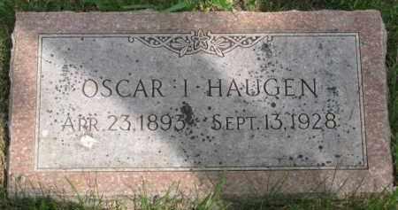 HAUGEN, OSCAR I. - Yankton County, South Dakota | OSCAR I. HAUGEN - South Dakota Gravestone Photos