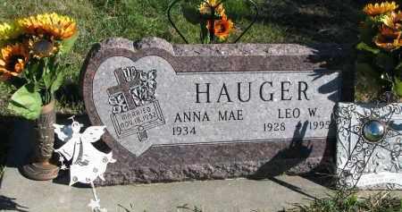 HAUGER, ANNA MAE - Yankton County, South Dakota | ANNA MAE HAUGER - South Dakota Gravestone Photos