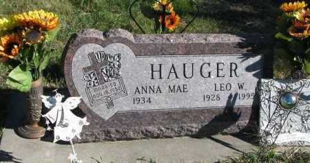 HAUGER, ANNA MAE - Yankton County, South Dakota | ANNA MAE HAUGER - South Dakota Gravestone Photos