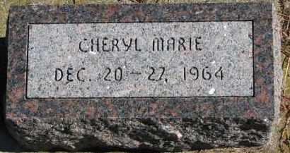 HAUGER, CHERYL MARIE - Yankton County, South Dakota   CHERYL MARIE HAUGER - South Dakota Gravestone Photos