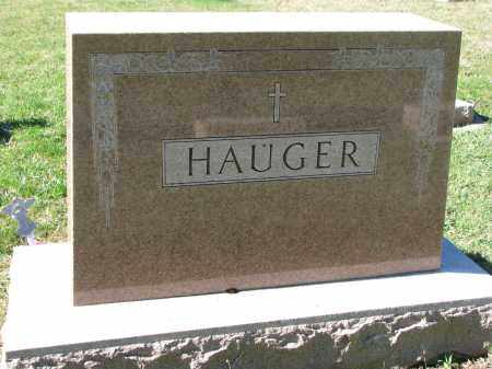 HAUGER, FAMILY STONE - Yankton County, South Dakota   FAMILY STONE HAUGER - South Dakota Gravestone Photos
