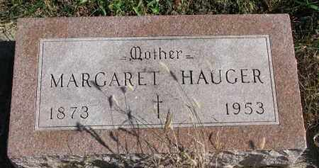 HAUGER, MARGARET - Yankton County, South Dakota | MARGARET HAUGER - South Dakota Gravestone Photos
